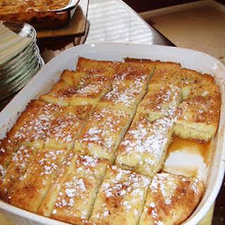French Toast Bake.