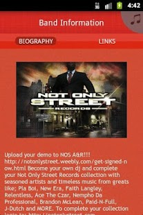 Not Only Street Records - screenshot thumbnail