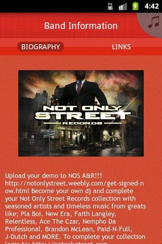 Not Only Street Records - screenshot