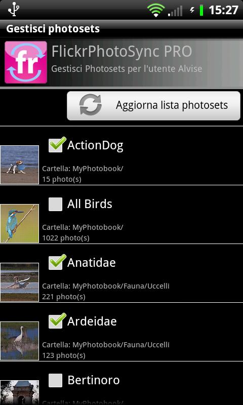 FlickrPhotoSync PRO - screenshot