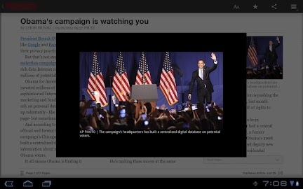 POLITICO For Tablet Screenshot 14