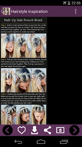 Hairstyle inspiration guides