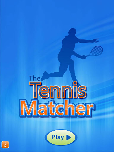 TheTennisMatcher