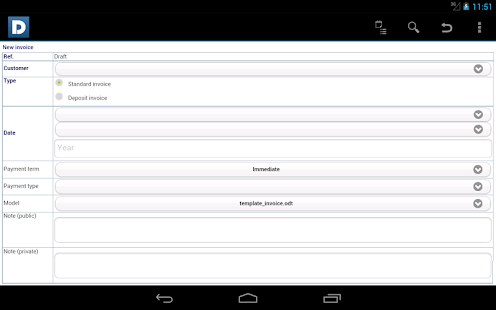 DoliDroid (Dolibarr ERP & CRM)- screenshot thumbnail