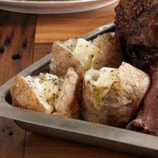 Salt-Baked Potatoes.