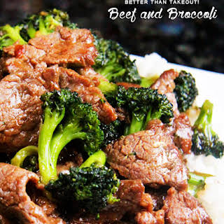 Better Than Takeout! Beef and Broccoli.