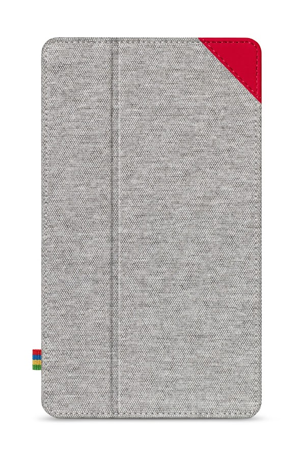 Nexus 7 (2013) Case - Gray/Red - screenshot