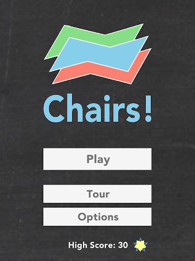 Chairs - an organic chem game