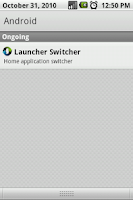 Screenshot of Launcher Switcher