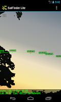 Screenshot of SatFinder Lite - TV Satellites