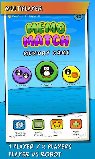 MemoMatch - Memory Game Free