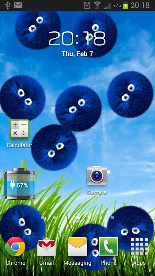FurBalls Live Wallpaper- screenshot