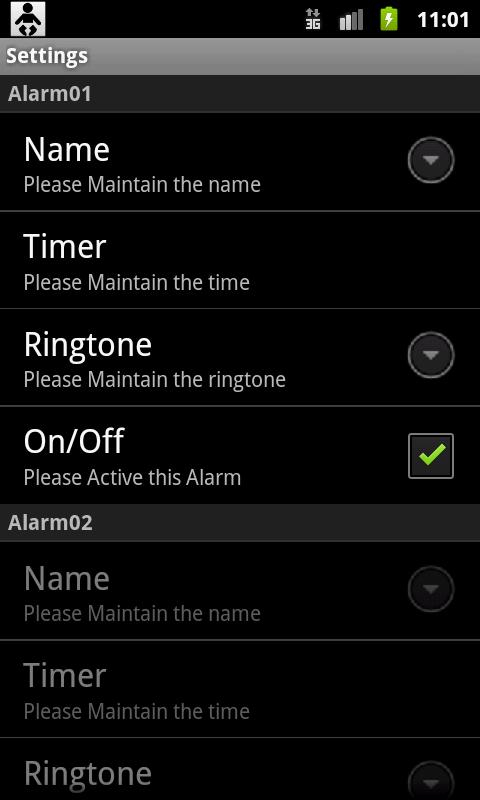 Baby Alarm- screenshot