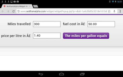 【免費交通運輸App】MPG Fuel Converter Calculator-APP點子