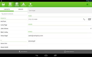 Screenshot of SendHub - Business SMS