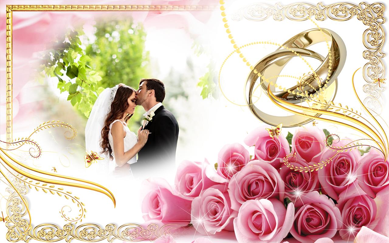 Wedding frames images