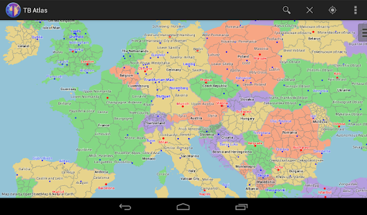 Tb atlas world map android apps on google play tb atlas world map screenshot thumbnail gumiabroncs Gallery