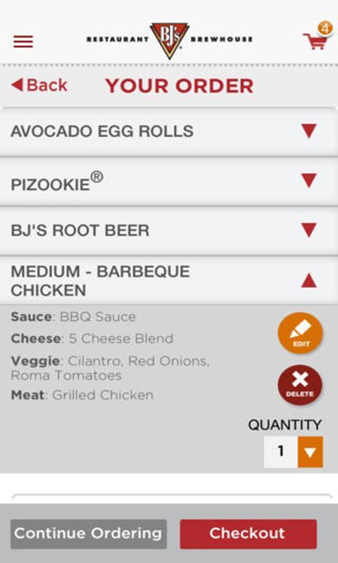 BJ's Mobile App - screenshot