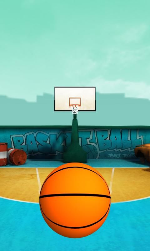 Finger Flick Basketball- screenshot