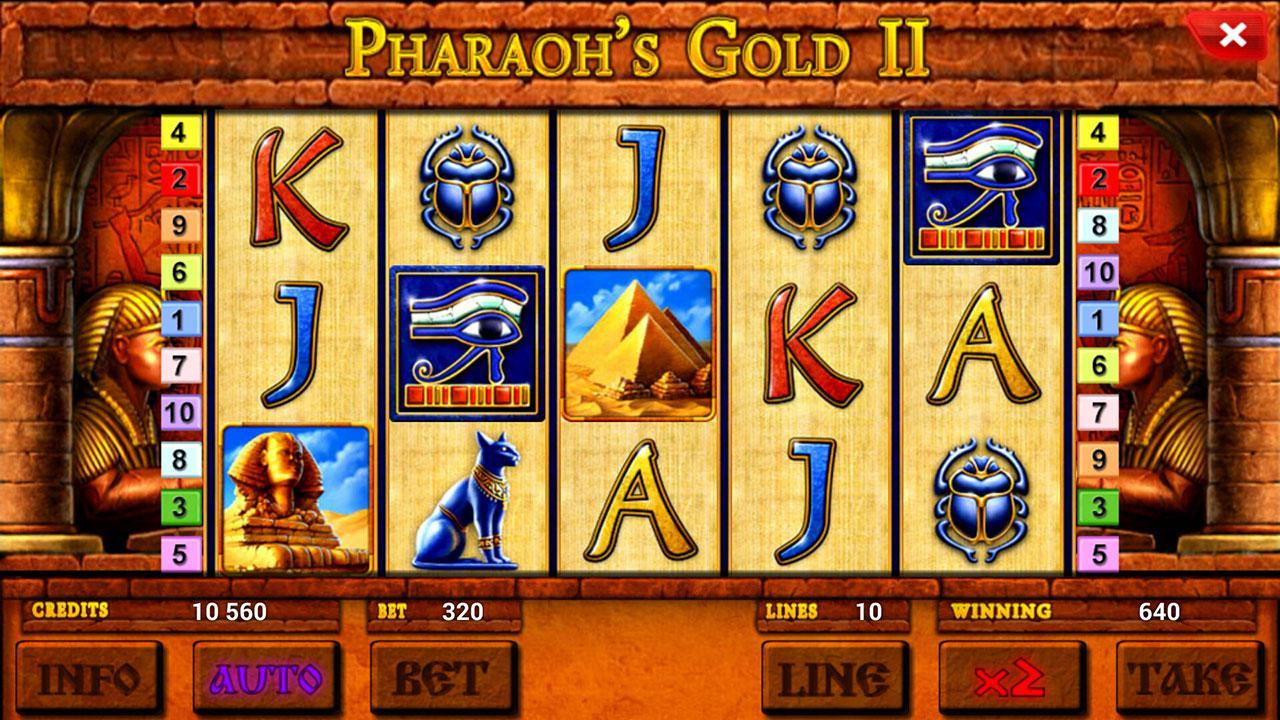 pharaoh gold game