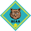 Cub Scouts Bear Badge logo