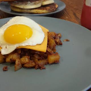 Chorizo Potatoes.