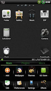 BIG ICONS Pack GO Theme - screenshot thumbnail
