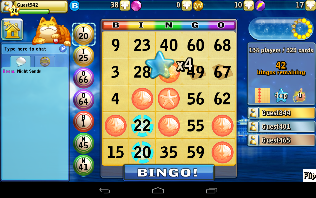 Bingo Beach- screenshot