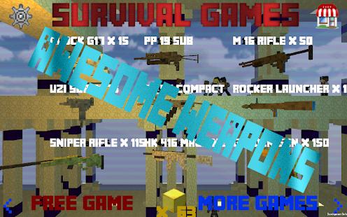 免費動作App 求生游戏 - 2区 Survival Games 阿達玩APP