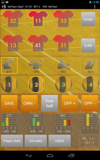 【免費運動App】Ultimate Volley Stats-APP點子