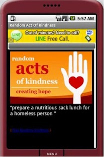 Random Act of Kindness- screenshot thumbnail