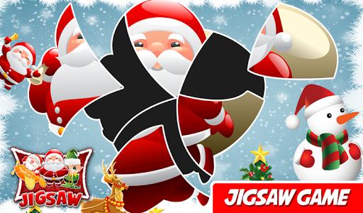 クリスマスパズルゲーム