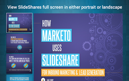 LinkedIn SlideShare- screenshot thumbnail