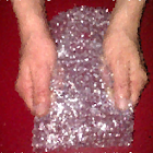 Burbujas de plastico icon