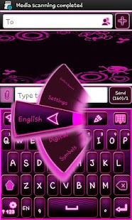 Go Keyboard Emo Punk Theme - screenshot thumbnail