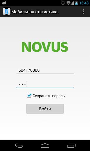 Мобильная статистика НОВУС