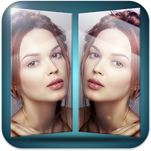3D Photo Mirrors Icon