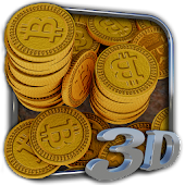 Bitcoins 3D Live Wallpaper
