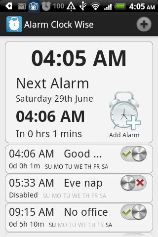 Alarm Clock Wise
