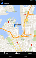 Screenshot of Google Coordinate