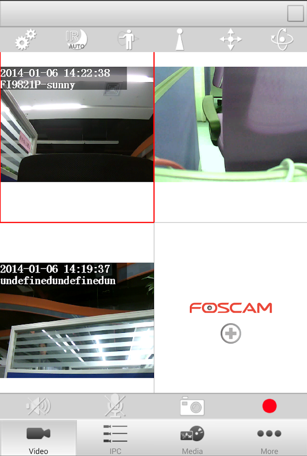 Foscam Viewer - screenshot