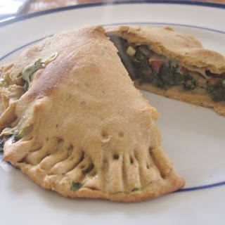 Kale and Cheese Calzone Recipe
