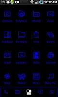 Screenshot of LightWorks Navy ADW Theme