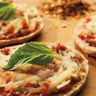 Whole Wheat Mini Pepperoni Pizzas