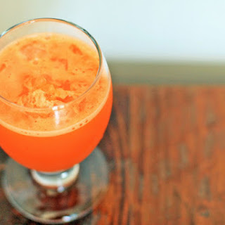 Carrot-Ginger-Lime Juice.