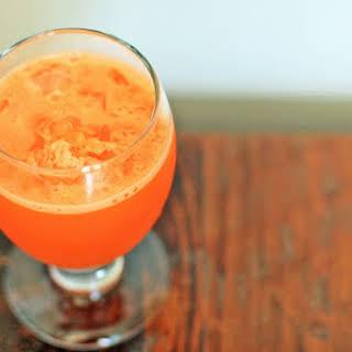Carrot-Ginger-Lime Juice.