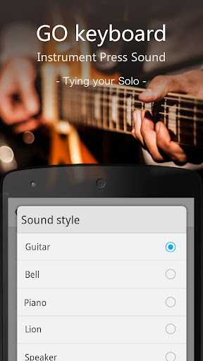 GO输入法乐器类按键音