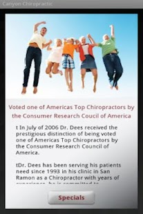 Canyon Chiropractic- screenshot thumbnail