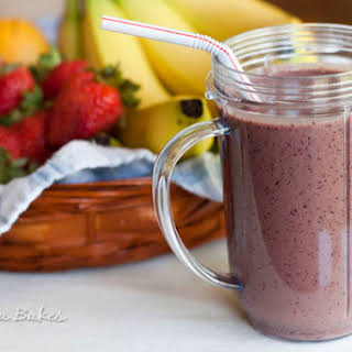 Berry Yogurt Smoothie.