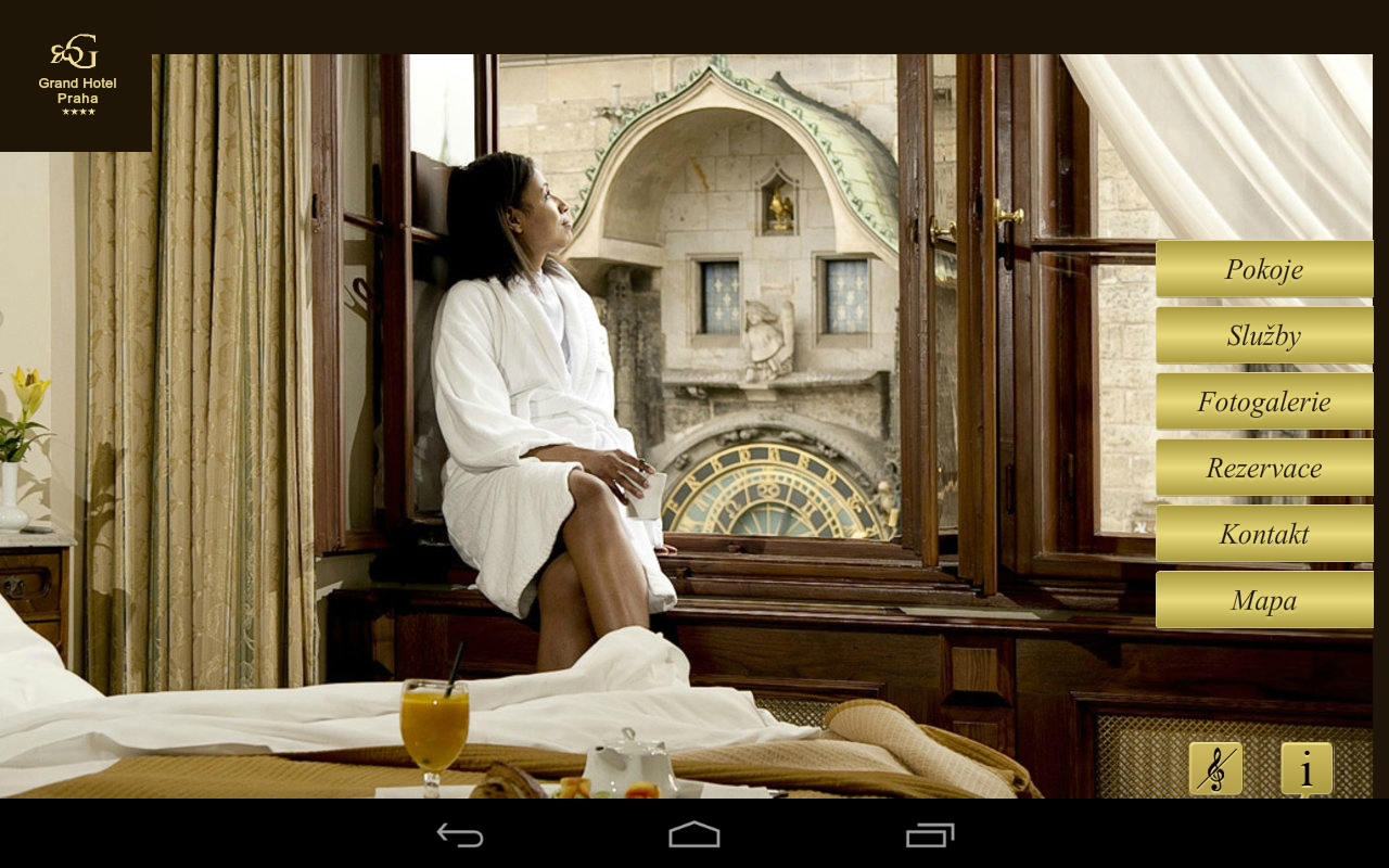 Grand hotel Praha - screenshot